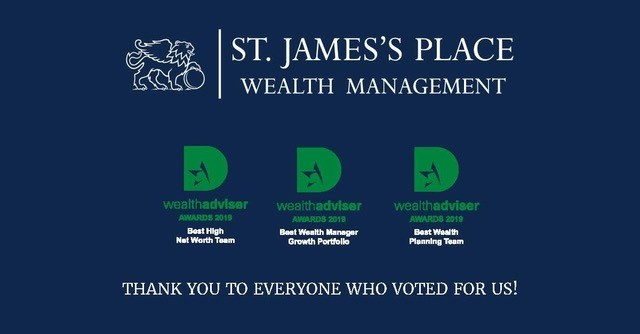 Member News | St James's Place wins 3 awards at the Wealth